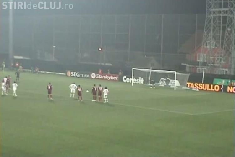 Gol Marius Niculae! Dinamovistul a inscris si stadionul din Gruia a amutit VIDEO