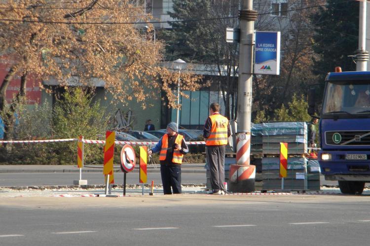 Mai putine accidente pe B-dul Titulescu din Cluj-Napoca? Noile sensuri giratorii ar trebui sa ii scape pe soferi de frica de a iesi in drumul cu prioritate