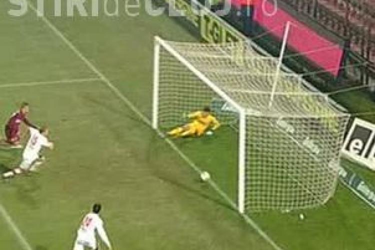 CFR Cluj sustine ca a fost gol la Kapetanos. Imaginile arata altceva FOTO