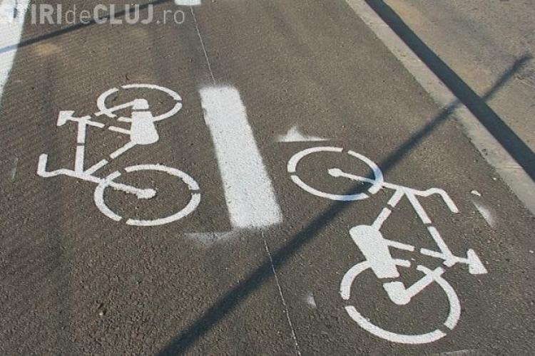 Piste de biciclisti si la Dej VIDEO