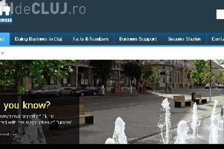 Primaria Cluj-Napoca a lansat www.clujbusiness.ro VIDEO