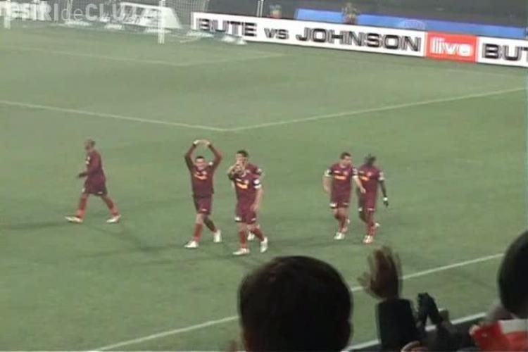 Gol Cadu in poarta Dinamo! Vezi cum a inscris din penaty si cum s-au bucurat suporterii VIDEO