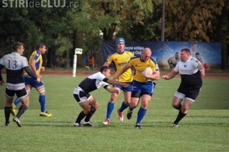 Rugby: U Cluj a pierdut la masa verde meciul castigat cu CSU Arad, pentru ca nu a avut o camera sa filmeze meciul