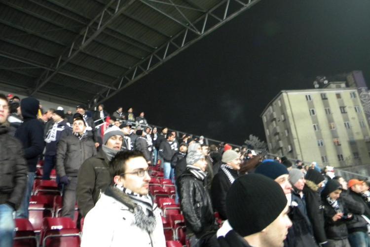 Rezultatul strategiei lui Paszkany : vezi cati spectatori sunt in tribune GALERIE FOTO