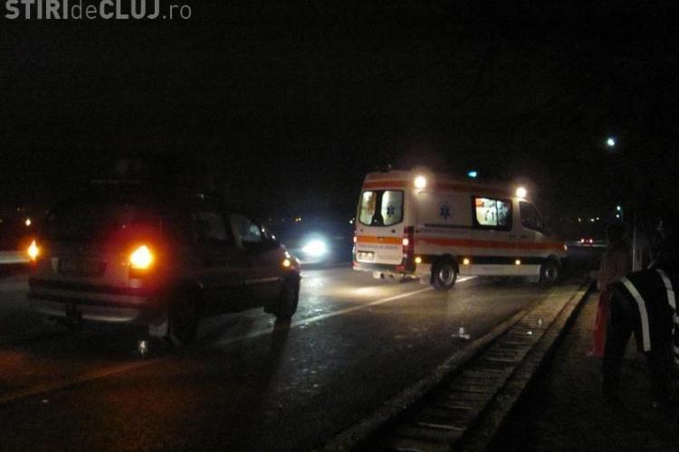 Accident pe centura Gherla! O femeie a murit VIDEO