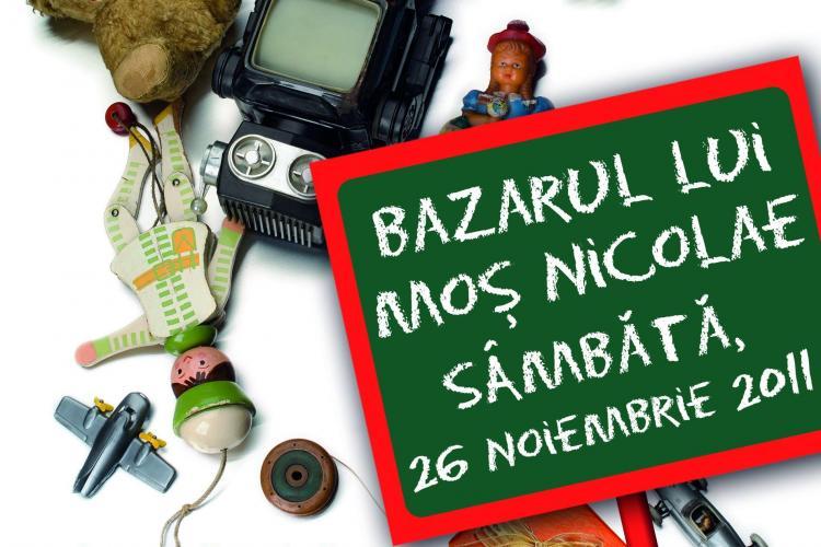 Bazarul lui Mos Craciun, la Iulius Mall, sambata, 26 noiembrie