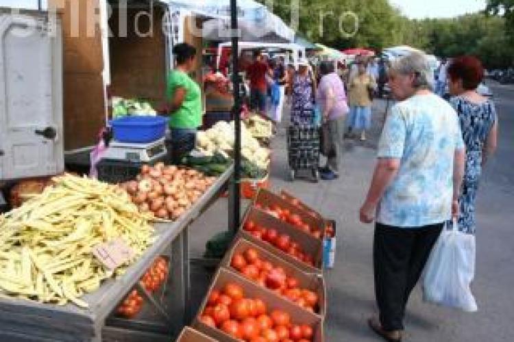 Piata volanta din cartierul Zorilor se muta pe strada Zorilor