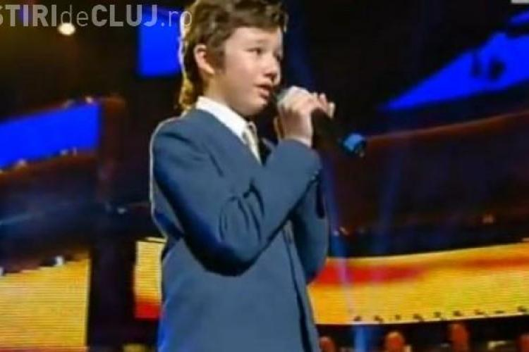 Un copil roman a castigat in Italia un concurs de canto VIDEO