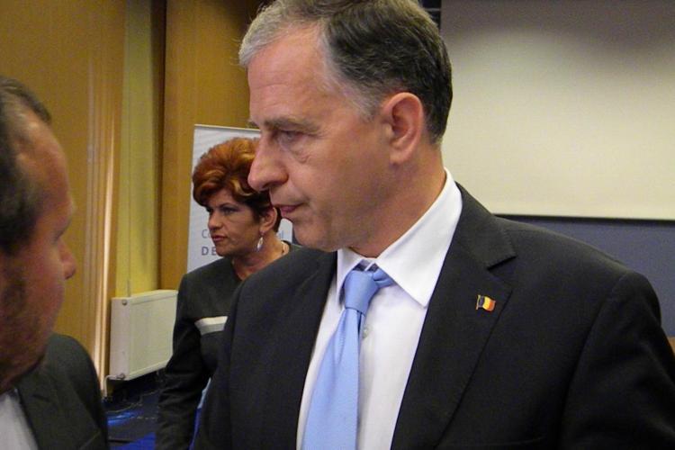 Mircea Geoana a ramas fara scaunul de presedinte al Senatului