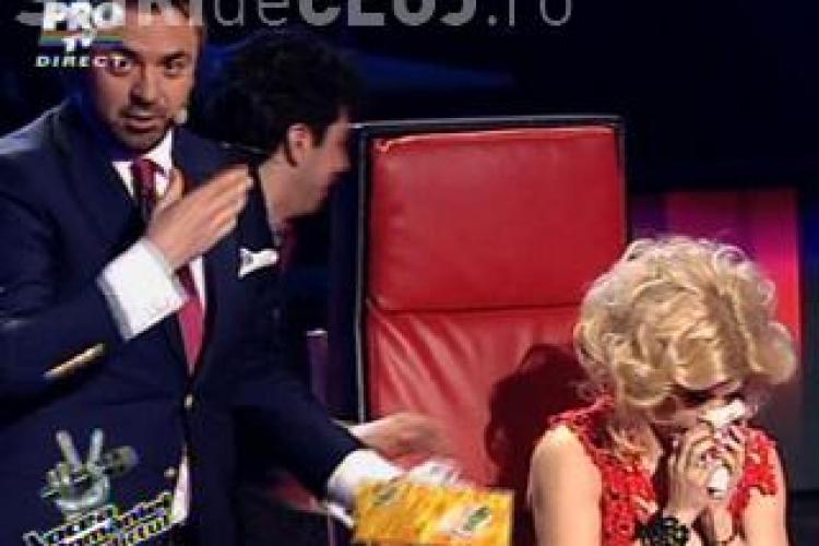 Aminda, eliminata de la Vocea Romaniei desi a cantat mai bine VIDEO
