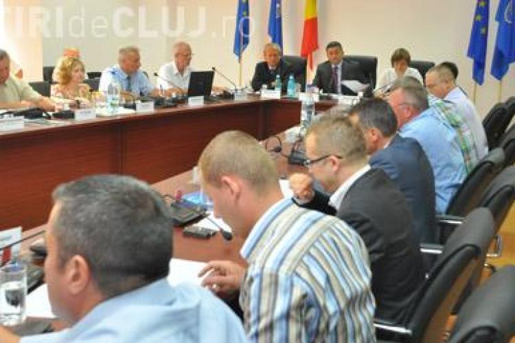 Marcel Weinblad, l-a inlocuit in Consiliul Judetean Cluj pe Traian Cuc, gasit incompatibil de ANI