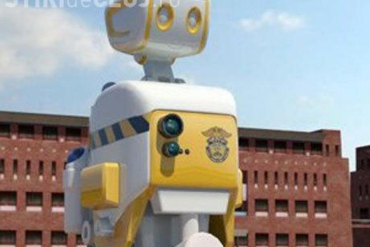 Robotii ar putea inlocui gardienii de la inchisoare