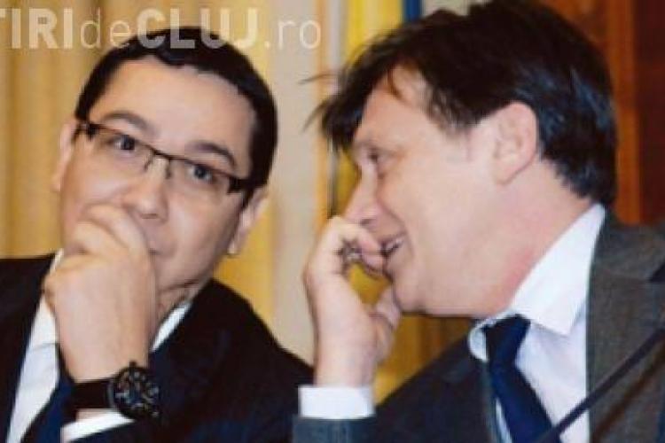 USL scade in sondaje! Crin Antonescu si Ponta vin la Cluj ca sa atace coruptia