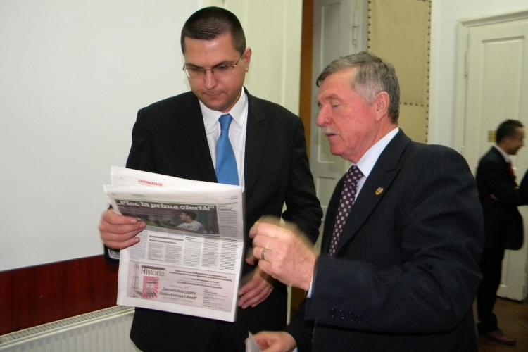 Radu Moisin, desemnat primar interimar dupa ce Sorin Apostu va fi suspendat VIDEO