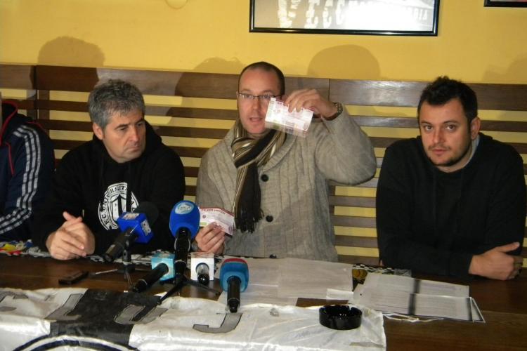 CFR Cluj emite de peste doi ani bilete cu valoarea de 1 leu! Clubul nu a fost inca amendat