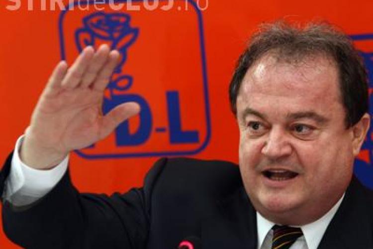 Vasile Blaga, preferat pentru sefia Senatului