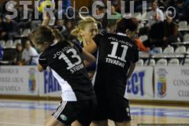 U Jolidon Cluj a castigat cu Levanger HK, in turul trei al Cupei Cupelor