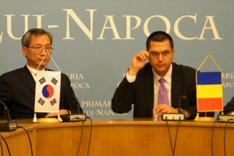 Ambasadorul Coreei promite sa faca publicitate Clujului pentru a atrage investitori