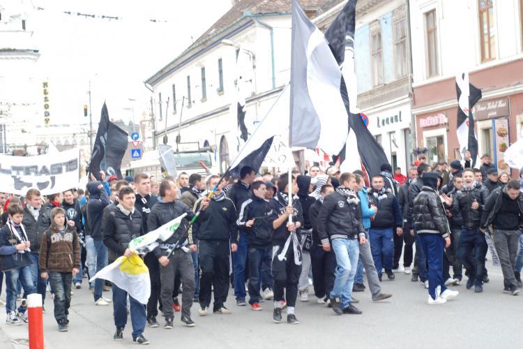 Suporterii U Cluj si CFR Cluj s-au infratit! Vezi ce vor face inaintea meciului incendiar din Gruia