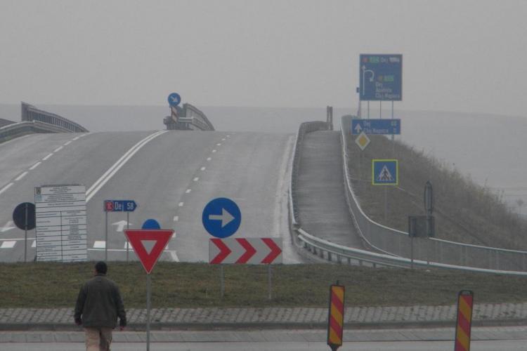 TIR -uri pe strada Fagului spre Calea Turzii si nu pe centura Valcele - Apahida