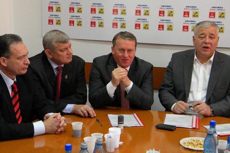 USL Cluj isi va desemna, pana la finele anului, candidatii comuni pentru alegerile locale din 2012