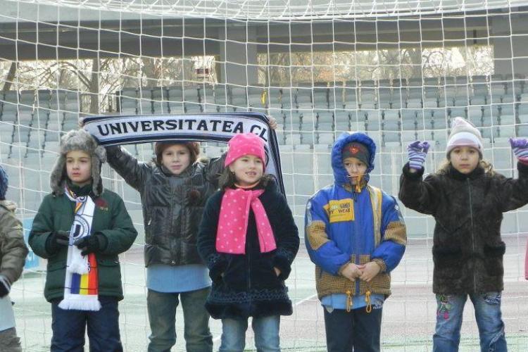 Copiii de la Gradinita Mamaruta, la Ora de istorie U Cluj FOTO