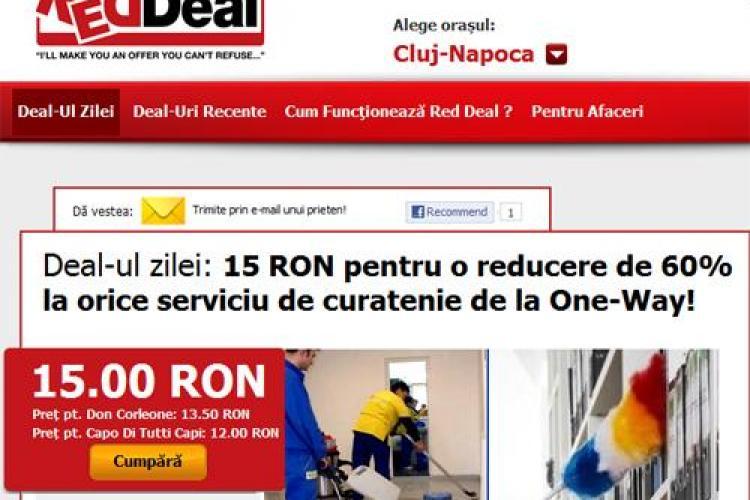 Vrei sa scapi de curatenia de sarbatori? 15 lei pentru o reducere de 60% la orice serviciu de curatenie de la One-Way! (P)