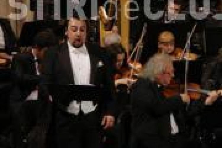 George Petean si invitatii sai la Opera Romana din Cluj