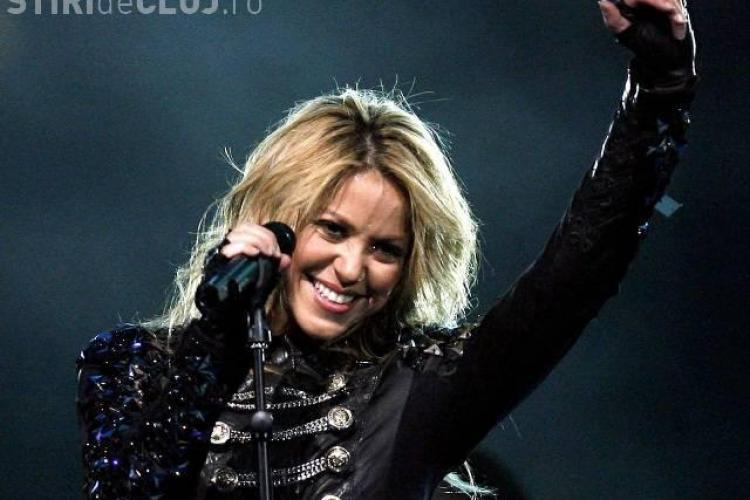 Shakira canta de Revelion in Romania