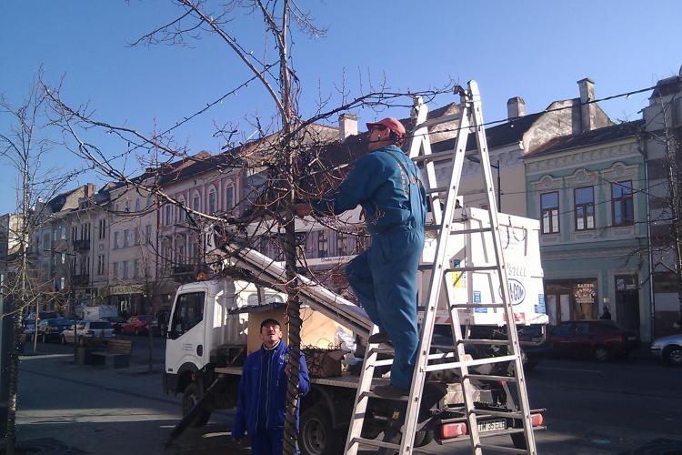 Iluminatul de sarbatori in Cluj-Napoca porneste in 1 Decembrie