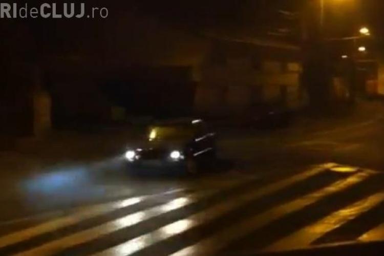 Drifturi pe strada Paris, la miez de noapte VIDEO