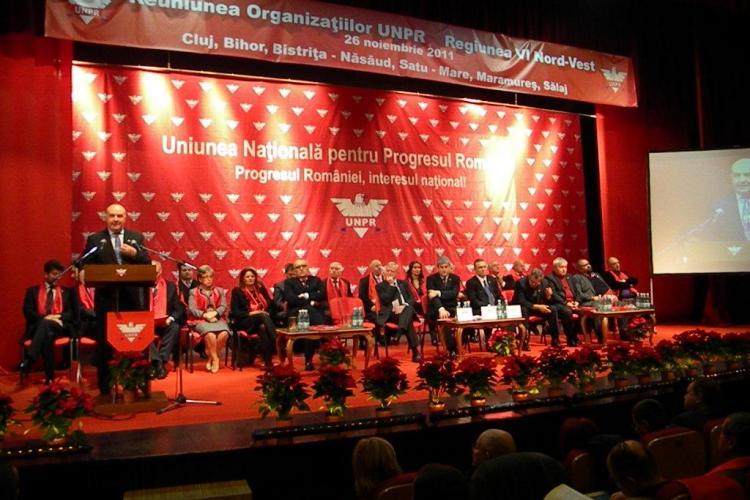 E criza? Vezi cu ce masini de lux au venit liderii UNPR la Cluj FOTO
