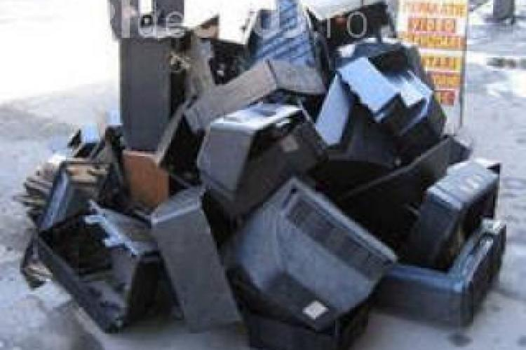 Deseuri electronice, colectate in Cluj-Napoca, sambata, 3 decembrie