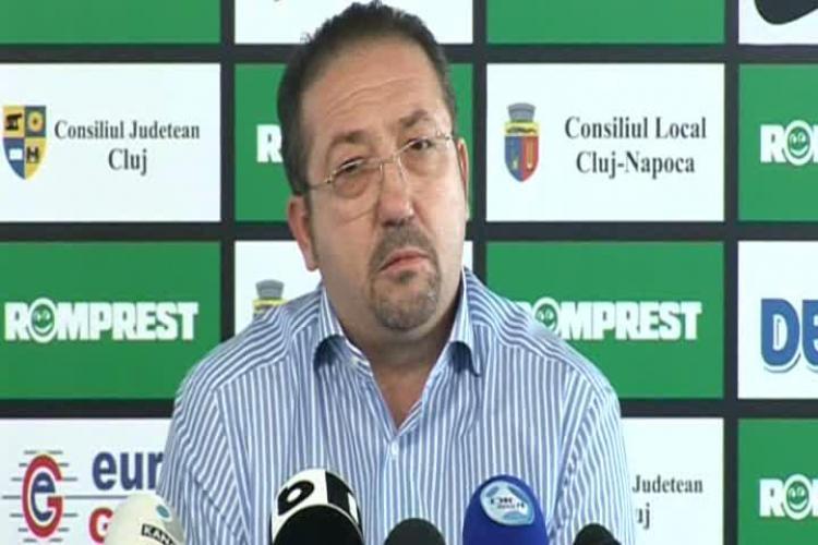 Walter vrea sa cumpere Cluj Arena cu ajutorul unor afaceristi din Anglia. Cum comentati?