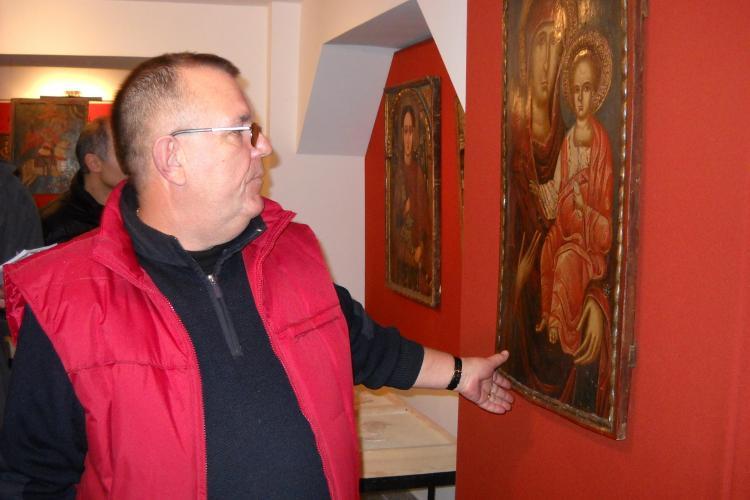 Icoane in valoare de un milion de euro la Muzeul Mitropoliei Clujului, de la subsolul catedralei VIDEO si FOTO