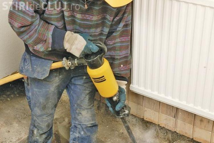 La Cluj se fura si pickhammere. Prejudiciul a fost de 6.000 de euro