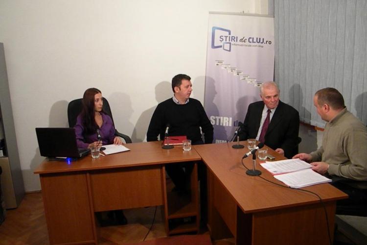 "Stiri de Cluj LIVE! Emisiune despre cazul Stoia si ""excursiile"" la bazinul de la Clinica de Recuperare"