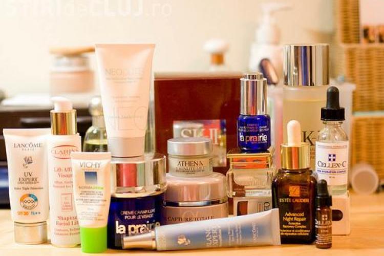 Cosmetice expirate in magazinele din Cluj-Napoca