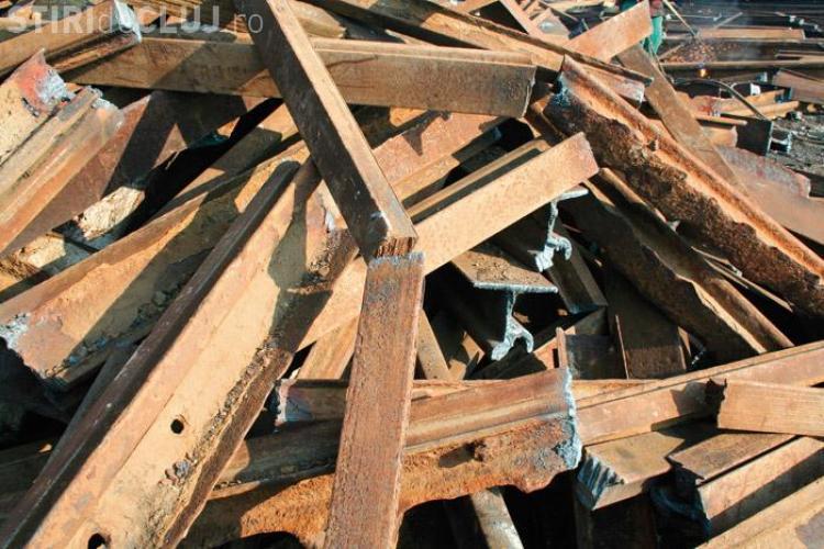 A furat 37,5 kilometri de sina de cale ferata din Turda