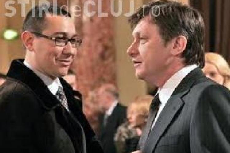 Ponta si Antonescu merg la consultarile cu Basescu daca participa doar USL