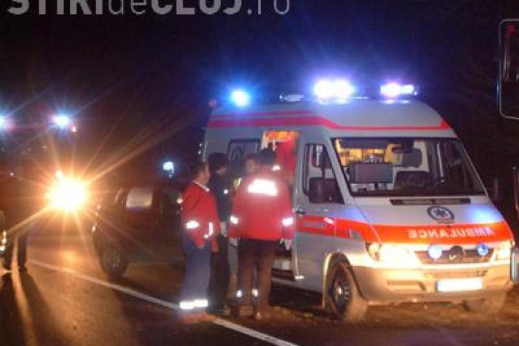 Accident intre Savadisla si Iara! Patru persoane sunt ranite