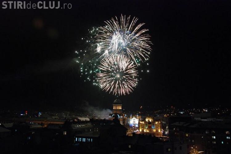 Artificii in Piata Avram Iancu, de la ora 20.00! Vezi o GALERIE FOTO spectaculoasa din 2010
