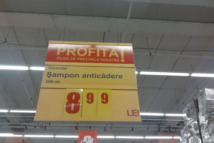 """Gafe in comert! Samponul """"anticadere"""" de la Auchan FOTO"""