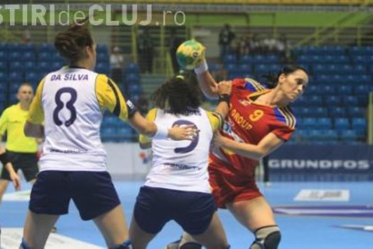 Romania va intalni Croatia la CM de handbal feminin din Brazilia