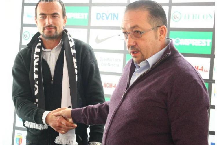 Ionut Badea ramane antrenor la U Cluj! Walter nu s-a inteles cu inlocuitorii