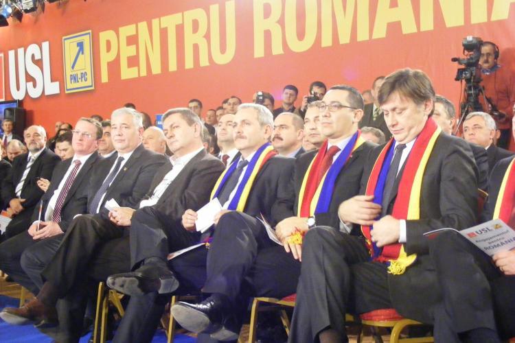 """USL a lansat la Cluj """"Angajamentul pentru Romania"""": Nu colaboram cu Basescu si PDL! Vezi cele 10 puncte ale angajamentului"""