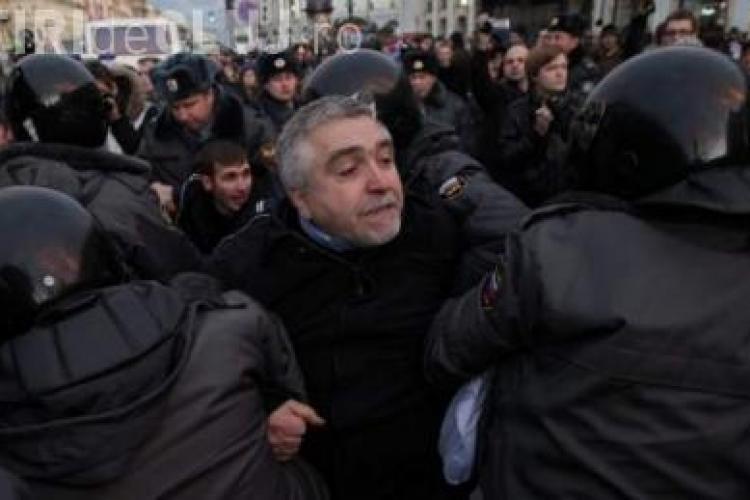Proteste impotriva lui Putin in Rusia