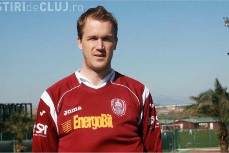 Gol Kapetanos in meciul Steaua - CFR Cluj VIDEO
