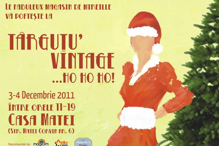 Targ de haine vintage la Cluj-Napoca, in 3 si 4 decembrie