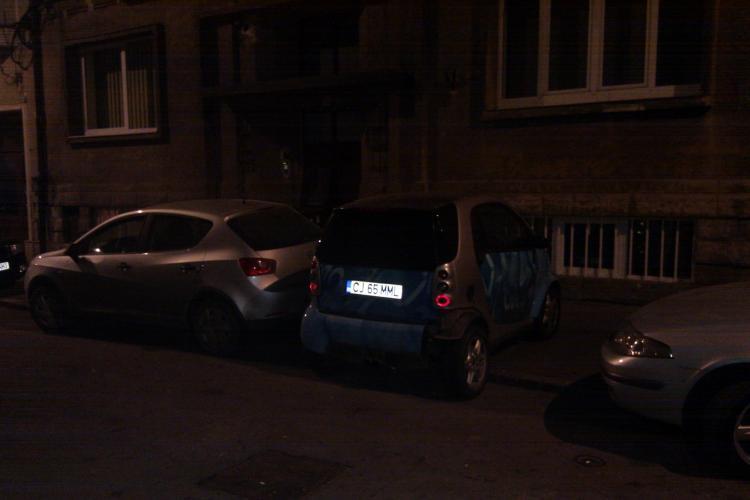 Cu astfel de masini n-ar mai fi probleme cu parcarea in Cluj-Napoca! VEZI FOTO